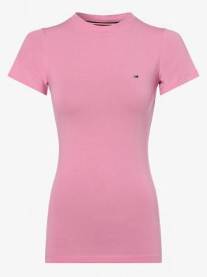 Tommy Jeans - T-shirt damski, różowy