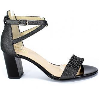 Sandały Gamis 3933 D19 Czarny Skóra