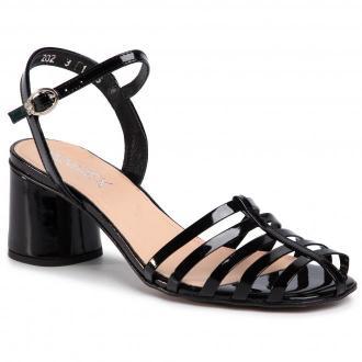 Sandały ANN MEX - 0943 01L Czarny