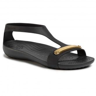 Sandały CROCS - Serena Metallic Bar Sdl W 206421  Gold/Black