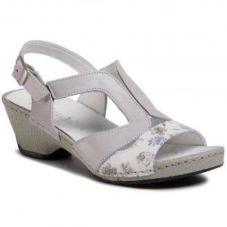 Sandały COMFORTABEL - 711022 Hellgrau 91
