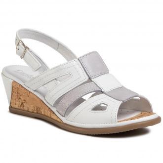 Sandały COMFORTABEL - 711027 Weiss 3