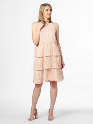Vila - Sukienka damska – Vimaraja, beżowy