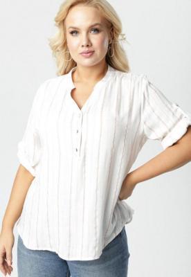 Biało-Różowa Bluzka Tanianos