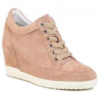 Sneakersy GEOX - D Carum C D02ASC 02214 C8191 Dk Skin