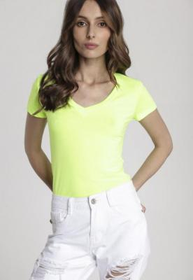 Limonkowy T-shirt Dialee