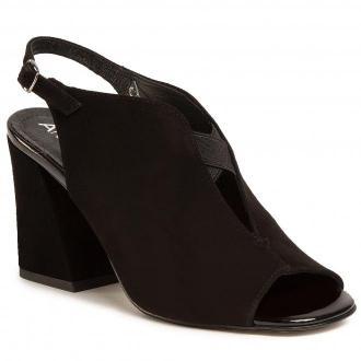 Sandały ANN MEX - 0798 01W Czarny
