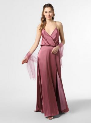 Unique - Damska sukienka wieczorowa, różowy