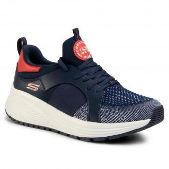 Sneakersy SKECHERS - Metro Daisy 117013/NVOR Navy/Orange