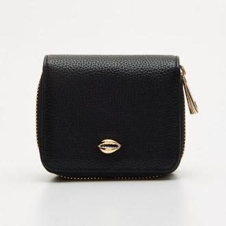 Cropp - Mały portfel - Czarny