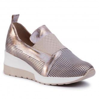 Sneakersy EKSBUT - 2B-5931-N74/0LL-1G Złoto/Biały
