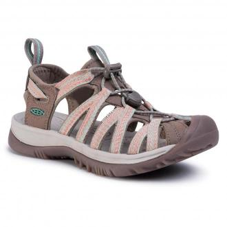 Sandały KEEN - Whisper 1022810 Taupe/Coral