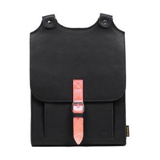 plecak skórzany Bookpack czarny