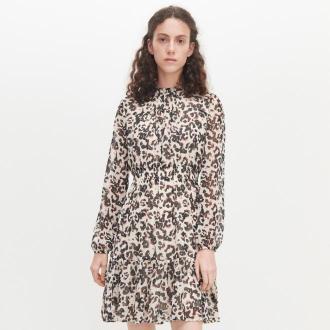 Reserved - Sukienka w cętki - Wielobarwny