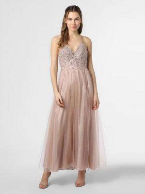Laona - Damska sukienka wieczorowa, beżowy