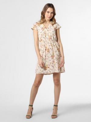 Vero Moda - Sukienka damska – Vmkissey, beżowy