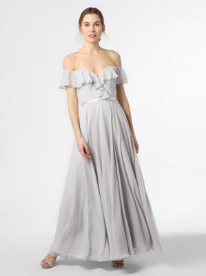 Laona - Damska sukienka wieczorowa, szary