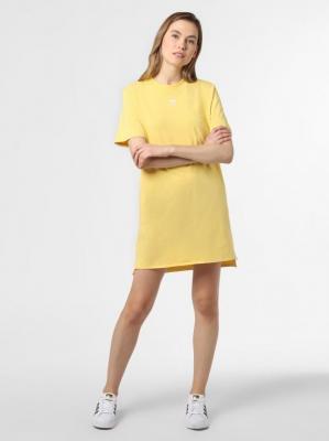 adidas Originals - Sukienka damska, żółty