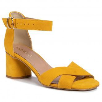 Sandały ANN MEX - 0813 10MS Żółty
