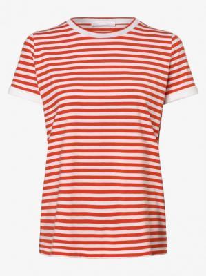 BOSS - T-shirt damski – Emasa 1, pomarańczowy