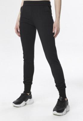 Czarne Spodnie Dresowe Chenely