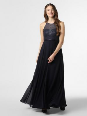 Marie Lund - Damska sukienka wieczorowa, niebieski