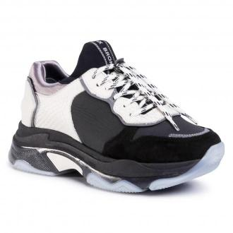 Sneakersy BRONX - 66167E-BP Black/Off White