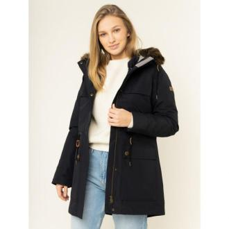 Roxy Parka Amy 3in1 Longline ERJJK03283 Granatowy Tailored Fit
