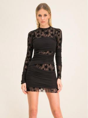 Diesel Sukienka koktajlowa Lary 00S4BD 0LAWH Slim Fit