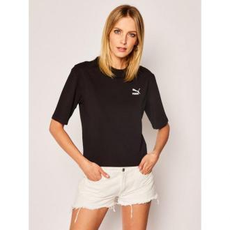Puma T-Shirt Tfs Graphic Tee 596259 Czarny Regular Fit