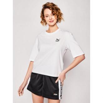 Puma T-Shirt Tfs Graphic Tee 596259 Biały Regular Fit