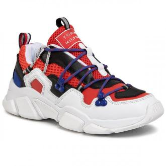 Sneakersy TOMMY HILFIGER - City Voyager Chunky Sneaker FW0FW04610 Rwb 0K5