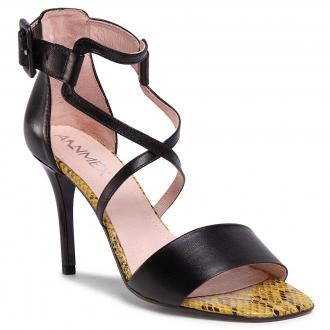 Sandały ANN MEX - 0959 01S+PS Czarny