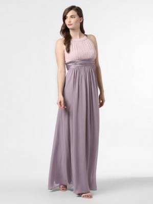 Marie Lund - Damska sukienka wieczorowa, beżowy