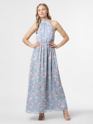 Vila - Sukienka damska – VISmilla, niebieski