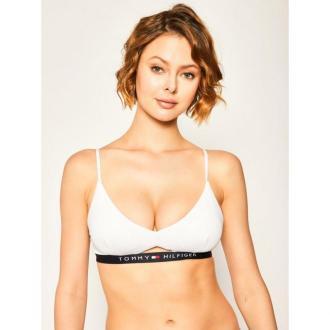 Tommy Hilfiger Góra od bikini Bralette RP UW0UW01435 Biały