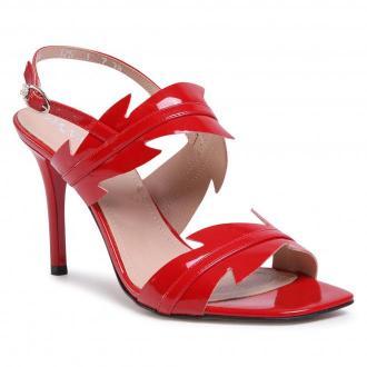 Sandały ANN MEX - 0808 14L Czerwony