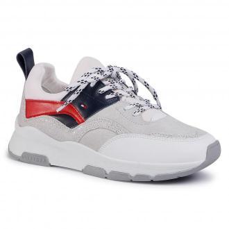 Sneakersy TOMMY HILFIGER - Sporty Chunky Glitter Sneaker FW0FW04853 Rwb 0KP