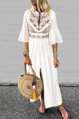 Sukienka ZELEFRA WHITE