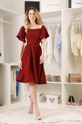 Sukienka DESITA BORDO