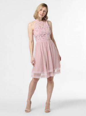 Vila - Sukienka damska – VIZinna, różowy