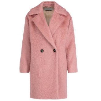 Marella Płaszcz przejściowy 30161596 Różowy Regular Fit