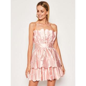 Pinko Sukienka koktajlowa Vinegar 20201 PBK2 1B14AH Y669 Różowy Regular Fit