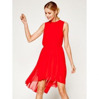Silvian Heach Sukienka wieczorowa Accademi PGP20280VE Czerwony Regular Fit
