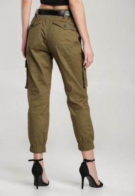 Zielone Spodnie Joggery Atemisia