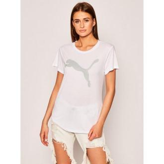 Puma Koszulka techniczna Evostripe 581241 Biały Relaxed Fit
