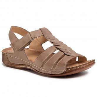 Sandały WALDI - 0628 Capuccino