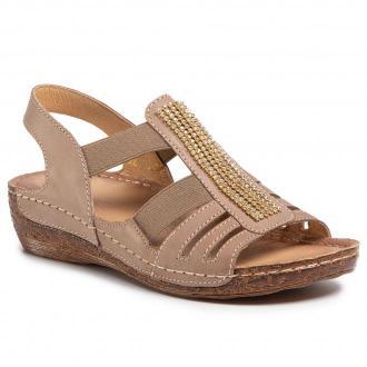 Sandały WALDI - 0662 Cappucino