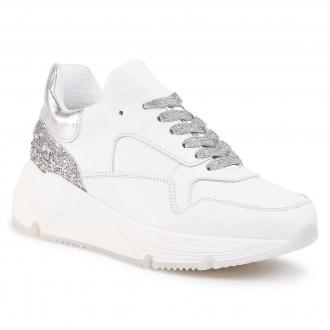 Sneakersy HEGO'S MILANO - 1270 Bianco/Silver