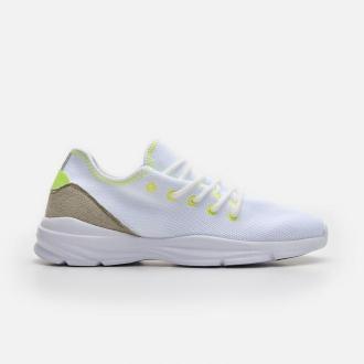Cropp - Sneakersy z poliestru z recyklingu - Biały